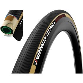 Vittoria Corsa Tubular Tyre 700x23C, czarny/beżowy